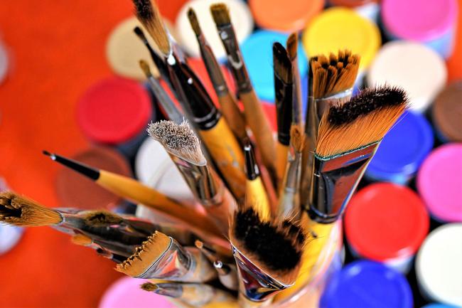 pot à crayons ou à pinceaux