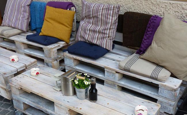 2 idées de mobilier de jardin à faire soi-même